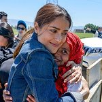 Salma Hayek Visits Lebanon With UNICEF To Raise Funds For Syrian Refugees