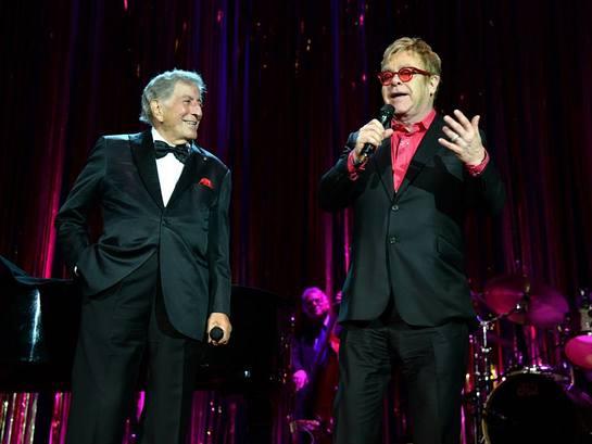 Tony Bennett and Elton John