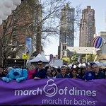 Eli Manning Leads March For Babies