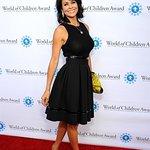 Brooke Burke-Charvet Attends World Of Children Award 2015 Alumni Honors
