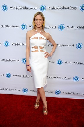 Stephanie March At World of Children Award