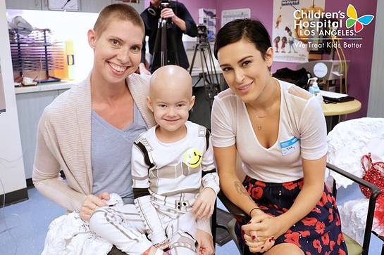 Rumer Willis Visits Children's Hospital Los Angeles