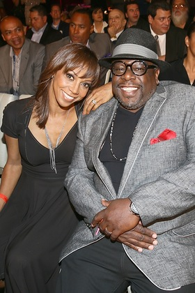 Holly Robinson Peete and Cedric The Entertainer