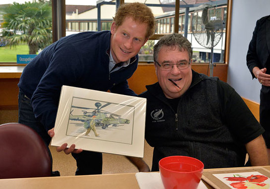 Prince Harry Visits the Auckland Spinal Rehabilitation Unit
