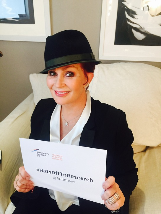 Sharon Osbourne - Hats Off To Alzheimer's Research