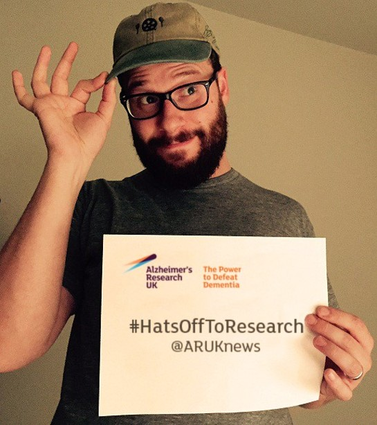 Seth Rogen - Hats Off To Alzheimer's Research