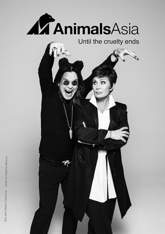 Ozzy And Sharon Osbourne Support Bear Relief