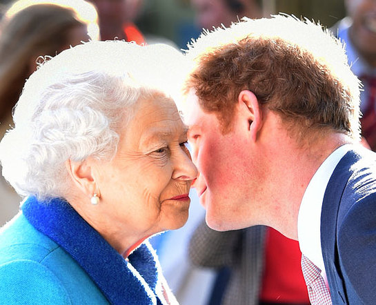 Prince Harry welcomes The Queen to the Sentebale HIV Garden
