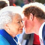 Prince Harry Welcomes The Queen To Charity Garden
