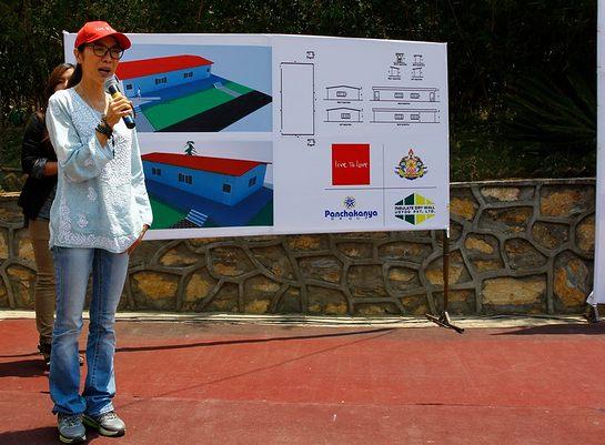 Michelle Yeoh In Nepal