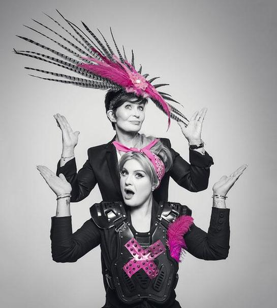 Sharon and Kelly Osbourne Join Pink Army