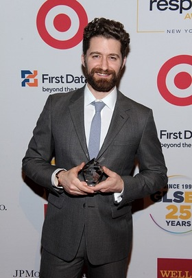 Glee's Matthew Morrison Honored At GLSEN Respect Awards