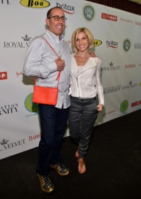 Jerry and Jessica Seinfeld Attend Baby Buggy Bash