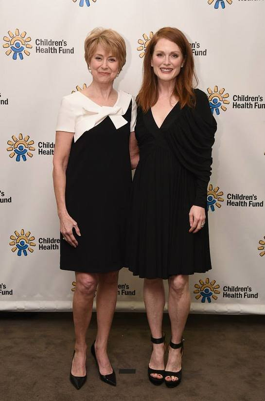 Advisory Council chair Jane Pauley and member Julianne Moore