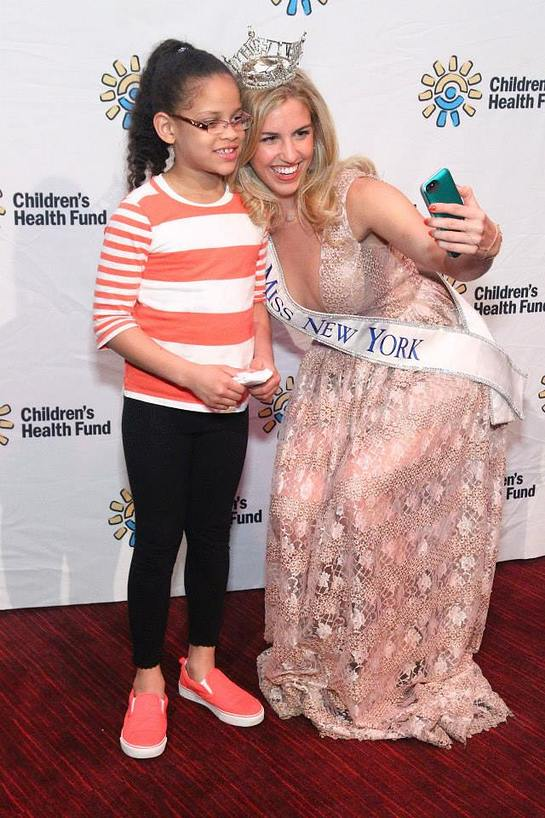 Miss New York Jillian Tapper and friend at CHF Annual Gala at Jazz at Lincoln Center