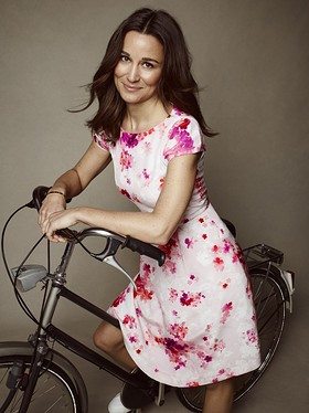 Pippa Middleton Models The Tabitha Webb Dress
