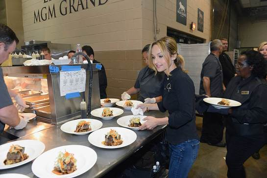 Chef Giada De Laurentiis at Keep Memory Alive Gala