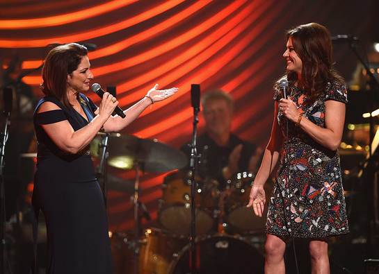 Gloria Estefan and Martina McBride