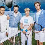 Andy Murray Joins One Direction's Liam Payne For Tennis