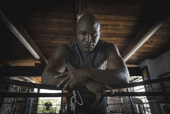 Evander Holyfield Records PSA For Prostate Cancer Foundation