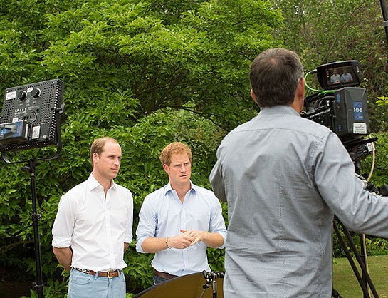 William And Harry Film Video Message