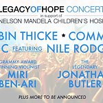 Robin Thicke, Common and Nile Rodgers to Perform at Legacy of Hope Foundation Concert