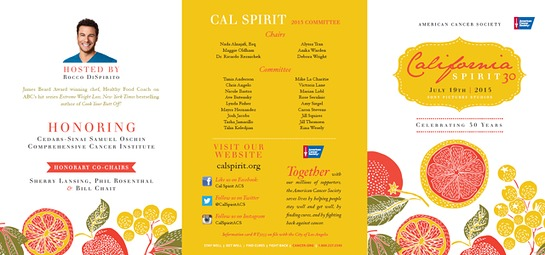 American Cancer Society Celebrates 30 Years of California Spirit