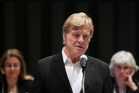 Robert Redford Speaks At High-Level Event On Climate Change