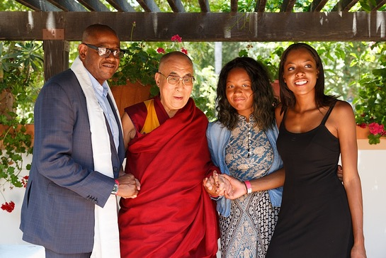 Forest Whitaker and the Dalai Lama