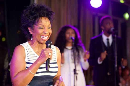 Gladys Knight at amfAR Paris Event