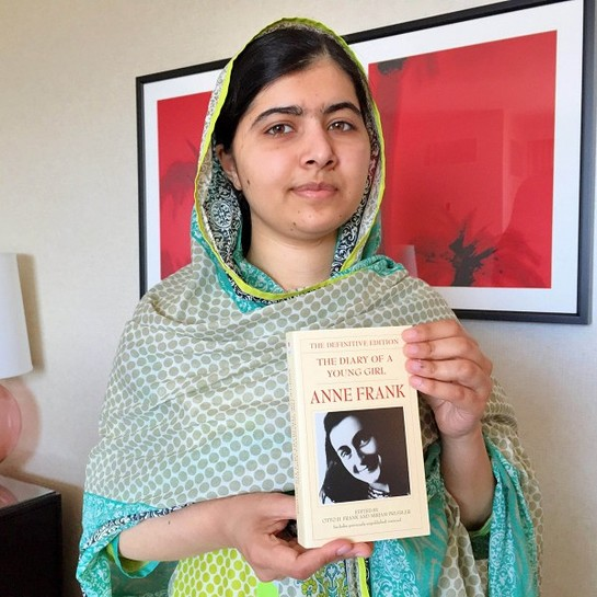 Malala #booksnotbullets