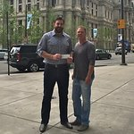 Todd Herremans Makes Surprise Visit To Philadelphia Charities