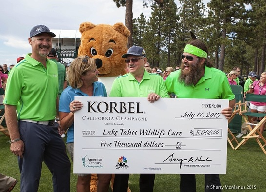 Todd Kennedy, Korbel; Sue Novasel, District Five Supervisor; Gary Heck, Korbel; Willie Robertson, Duck Dynasty