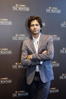 Adrian Grenier at The Venture