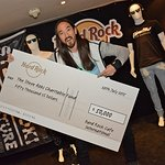 Steve Aoki Donates Memorabilia To Hard Rock International