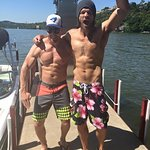 Jared Padalecki And Stephen Amell Give The Shirts From Their Backs... And Fronts