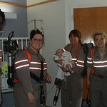 Ghostbusters Visit Children's Hospital