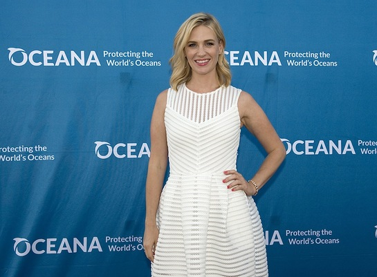 January Jones at Oceana's SeaChange Summer Party