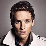Eddie Redmayne Stands Up To Cancer In Rockefeller Plaza Window Display