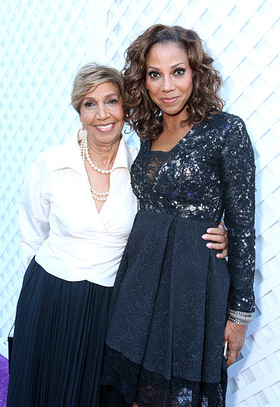 Holly Robinson Peete and mom Dolores Robinson