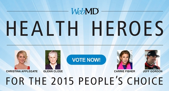 WebMD Health Hero People's Choice Nominees