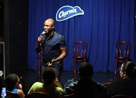 Wayne Brady partnered with Charmin to host a live comedy show in honor of National Toilet Paper Day