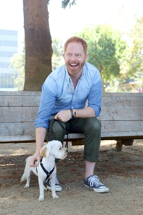 Jesse Tyler Ferguson partnered with Purina ONE and Petfinder to adopt his new dog, Fennel