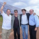 Bono Tours East Africa's First Solar Field
