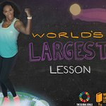Serena Williams Helps Launch World's Largest Lesson