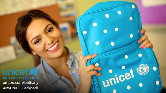 Bethany Mota Teams Up With UNICEF to Help Kids Around the World Go Back to School