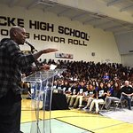 Tyrese Gibson Surprises Students At Former School And Announces WE Day California