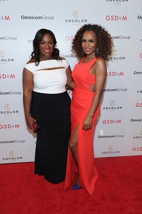 ADCOLOR Foundaer Tiffany R. Warren and Janet Mock