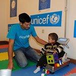 Novak Djokovic Visits Refugee Children In Serbia