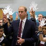 Duke Of Cambridge Visits Organization Set Up In Memory Of Princess Diana